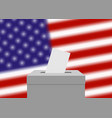 election banner background vector image