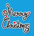 Merry christmas slova1 resize vector image