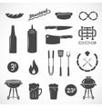 Sausage Flat Icons and Design Elements Such vector image vector image