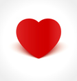 Heart Shape with Shadow vector image