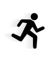 Running Human Icon vector image