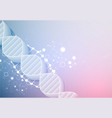 science template wallpaper or banner with a 3d vector image vector image