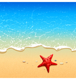 Sea Background 5 vector image vector image