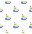 Ship cartoon icon for web and mobile vector image vector image