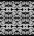 elegant seamless pattern design with swirls vector image vector image