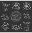 hygge backgrounds with hand drawn cozy home vector image vector image