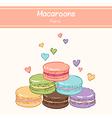macarons paris vector image