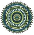 mandala circle ornament vector image