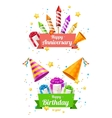 Party Card Flyer or Placard vector image vector image