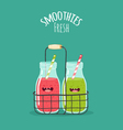 Smoothis fresh vector image vector image