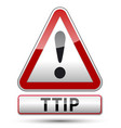 ttip - transatlantic trade and investment vector image vector image