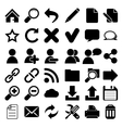 Web Internet Icons vector image vector image