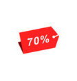 70 discount hang tag template vector image vector image
