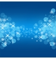 Abstract Blue Circle Background vector image vector image