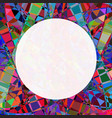 chaotic colorful broken stained glass seamless vector image