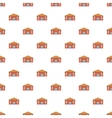 Education centre pattern cartoon style vector image