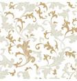 floral pattern flower oriental ethnic background vector image vector image