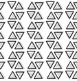 geometric seamless pattern Repeating vector image vector image