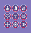 phone stories social icons story web vector image vector image