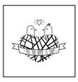 print birds nest vector image vector image