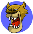 Puma Head vector image vector image