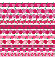 rose border patterns vector image vector image