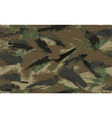 seamless brush stroke camouflage print vector image