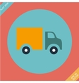Truck Icon - Flat design vector image vector image