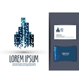 building logo design template business or finances vector image vector image