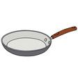 Ceramic pan vector image