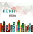 City - background vector image