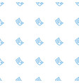 document icon pattern seamless white background vector image vector image