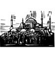 Hagia Sophia vector image vector image