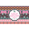 Hipster seamless aztec pattern vector image vector image