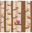 Pattern forest vector image