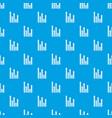 upside growing arrows pattern seamless blue vector image vector image