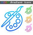 art symbol icon concept vector image
