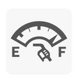 car dashboard symbol vector image