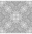 ethnic line art hand drawn background vector image