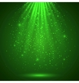 Green magic light abstract background vector | Price: 1 Credit (USD $1)