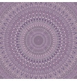 psychedelic mandala ornament background - round vector image vector image