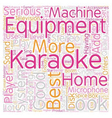 The Best Karaoke Equipment To Enhance Your Karaoke vector image vector image