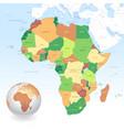 classic africa map