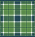 Green tartan plaid seamless pattern