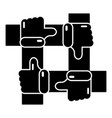 like icon simple black style vector image vector image
