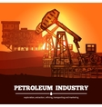Petroleum Industry Design Concept vector image