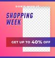shopping week multipurpose social media post