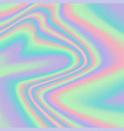 vibrant gradient holographic texture vector image vector image