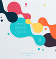 Abstract Business Background For Infographics vector image