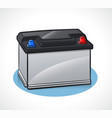 auto battery design isolated vector image vector image